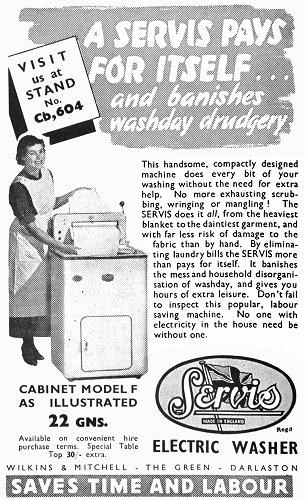 servis washing machine instructions